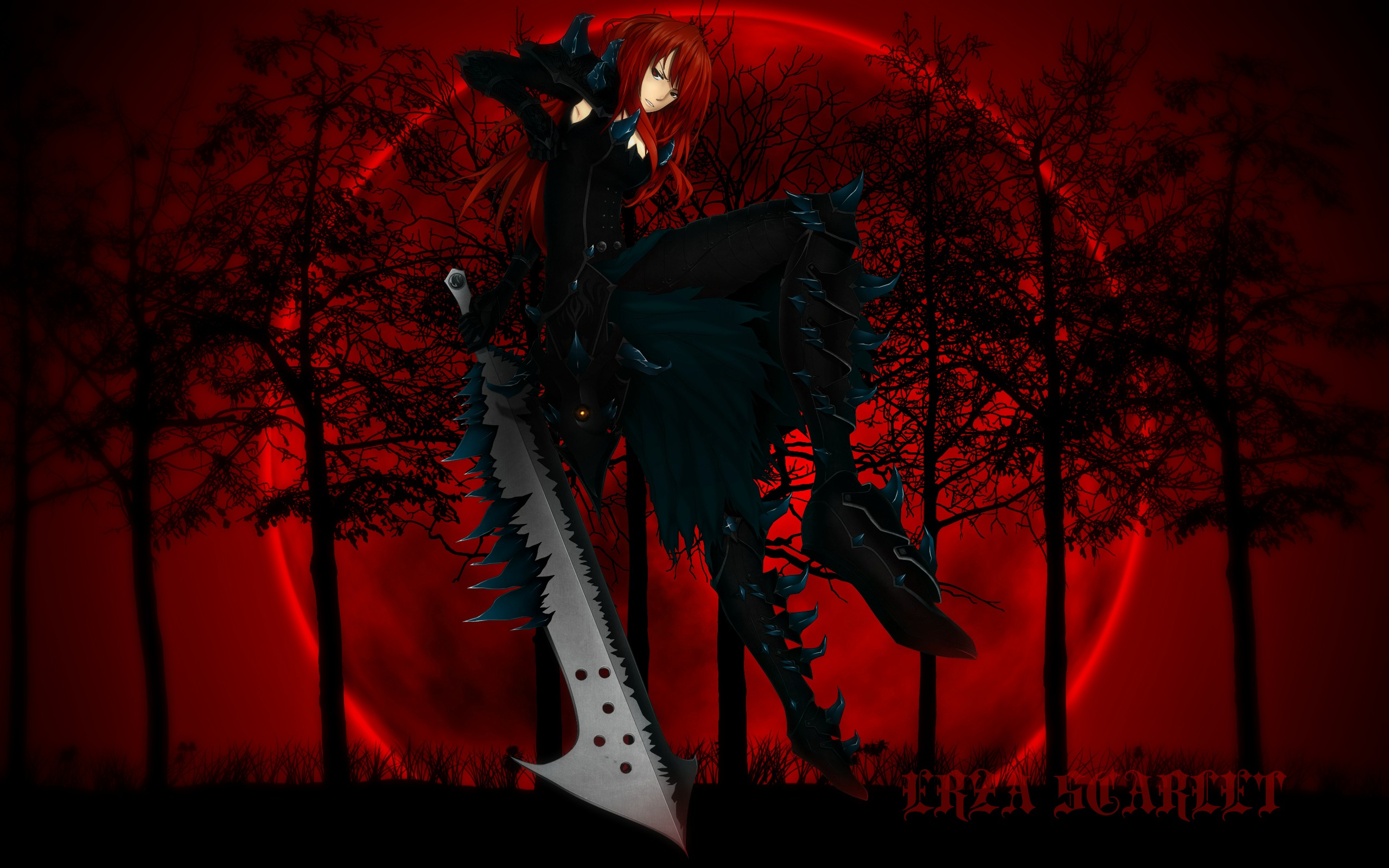 RedMoon Erza Full HD Wallpaper And Background 2560x1600 ID459365