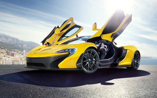 Vehicles McLaren P1 McLaren Car Sport Car Supercar Yellow Car HD Wallpaper | Background Image