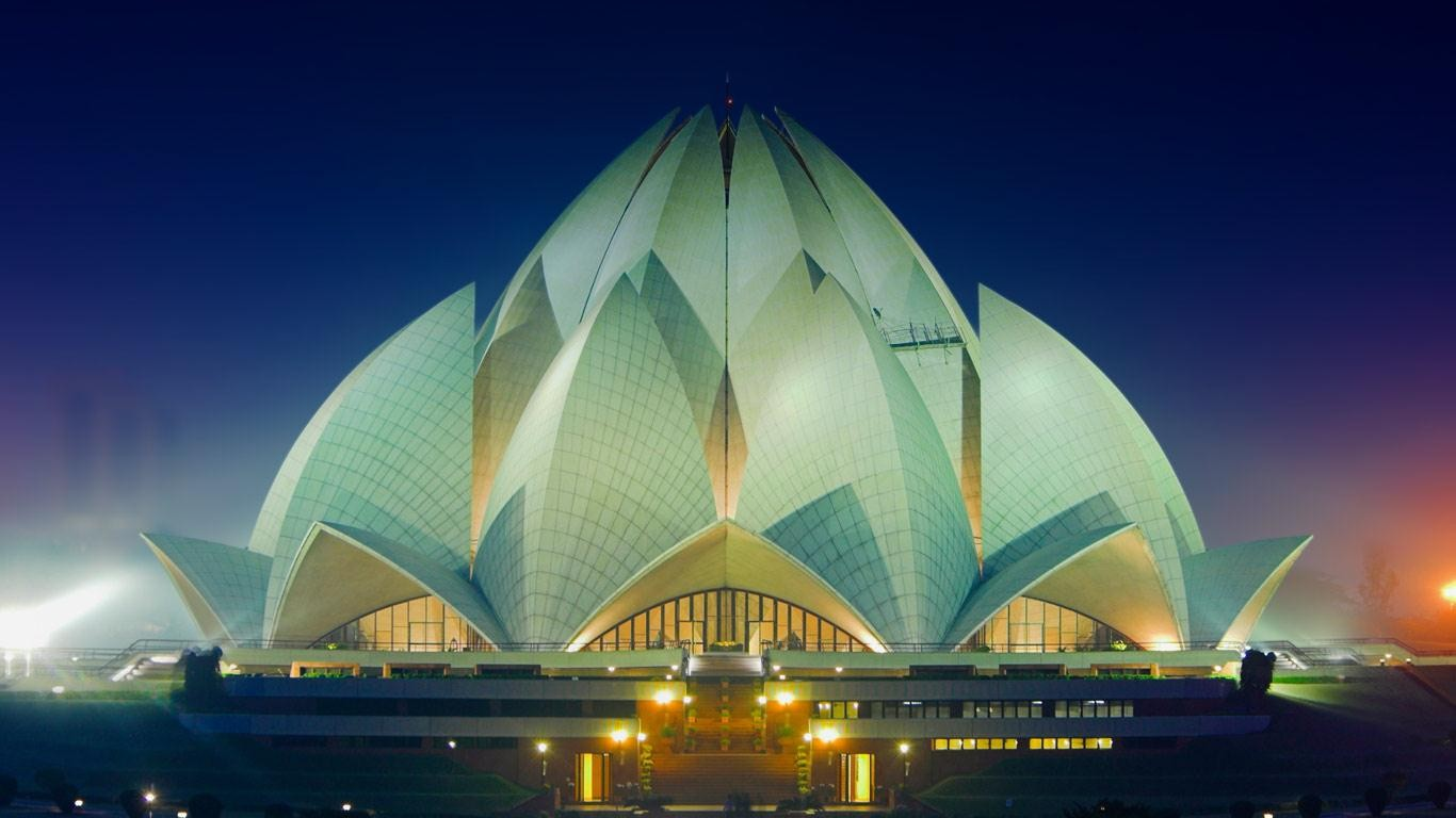 1 Lotus Temple Hd Wallpapers Backgrounds Wallpaper Abyss