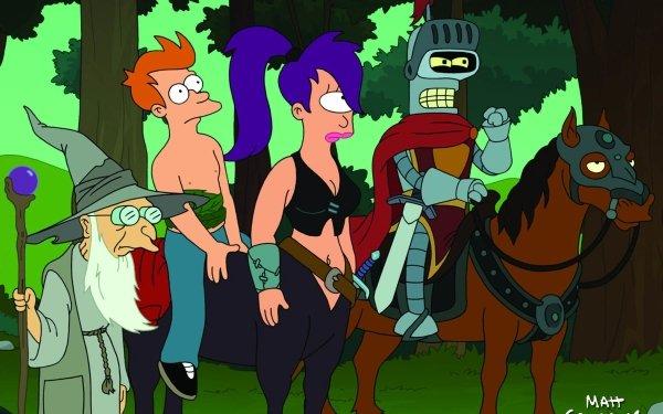 TV Show Futurama Turanga Leela Leela Philip J. Fry Fry Bender Bender Bending Rodriguez Professor Farnsworth HD Wallpaper | Background Image