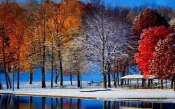 Earth - Winter Wallpapers and Backgrounds ID : 463795