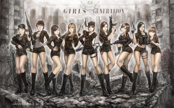 Music SNSD Band (Music) South Korea Girls' Generation HD Wallpaper   Background Image