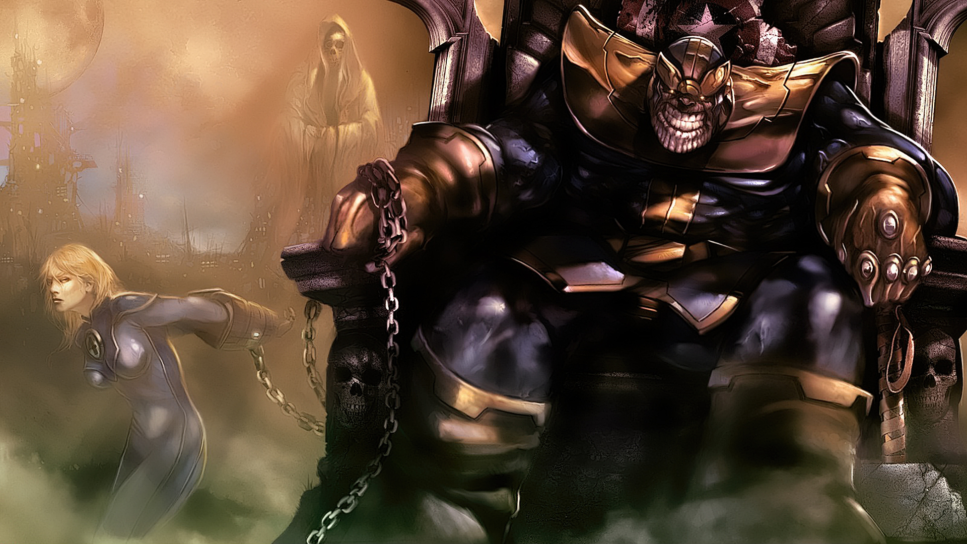 Thanos Hd Wallpaper: Background Images - Wallpaper Abyss