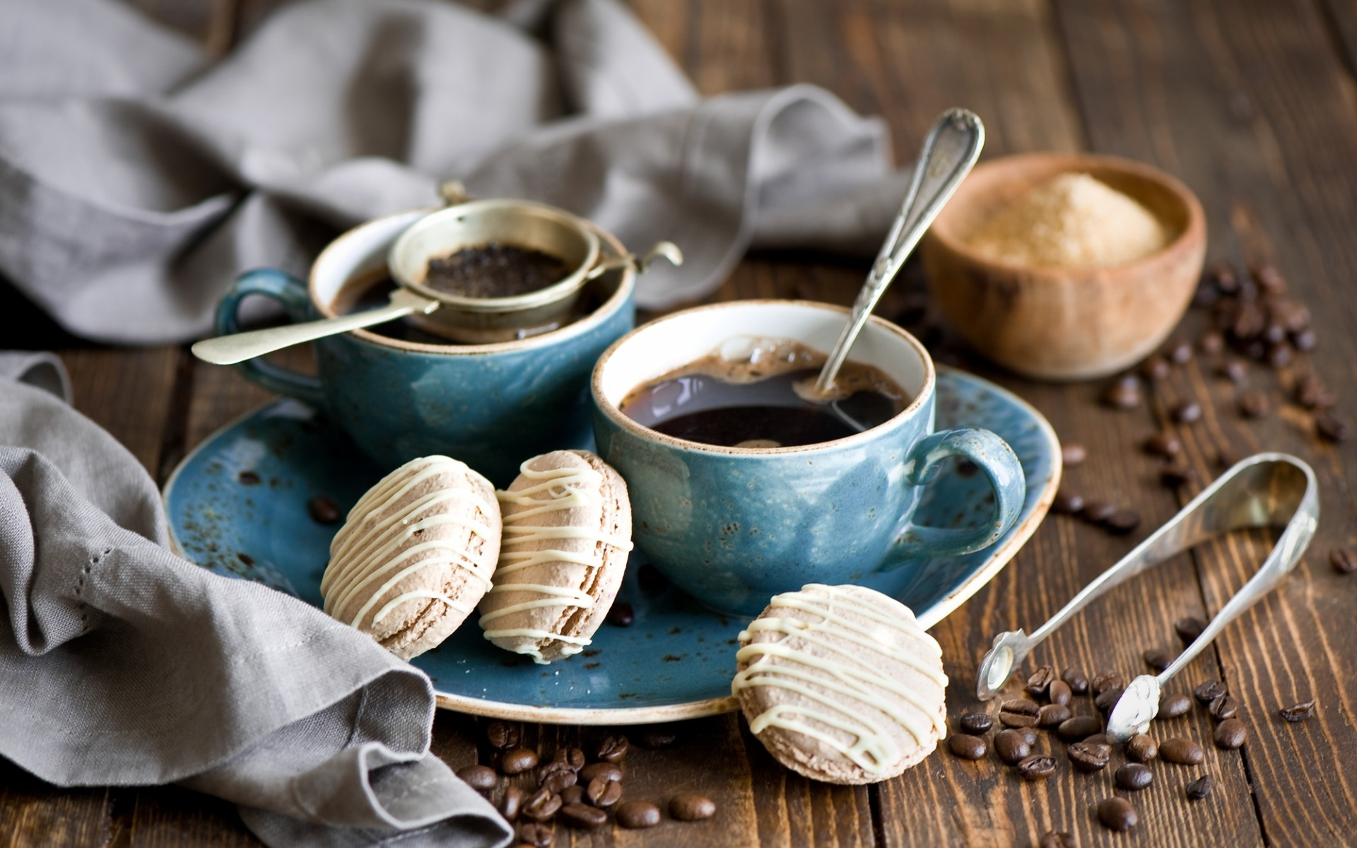Cakes And Coffee Full Hd Wallpaper And Background Image