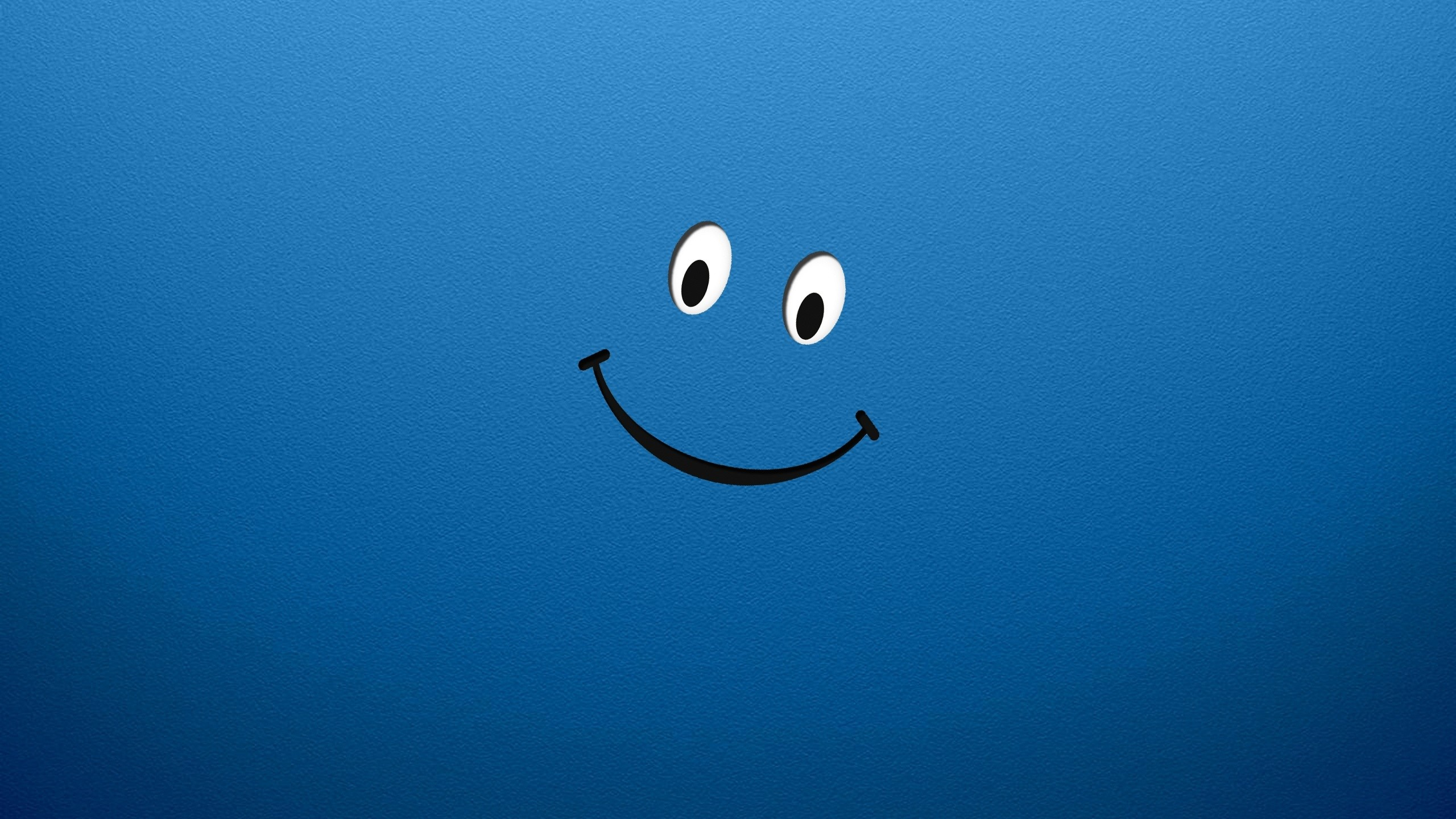 Smiley Face Blue Hd Wallpapers Desktop Background