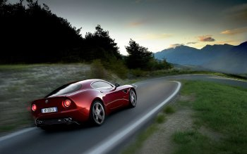Vehicles - Alfa Romeo 8C Competizione Wallpapers and Backgrounds ID : 466351