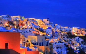 Man Made - Santorini  Wallpapers and Backgrounds ID : 466422
