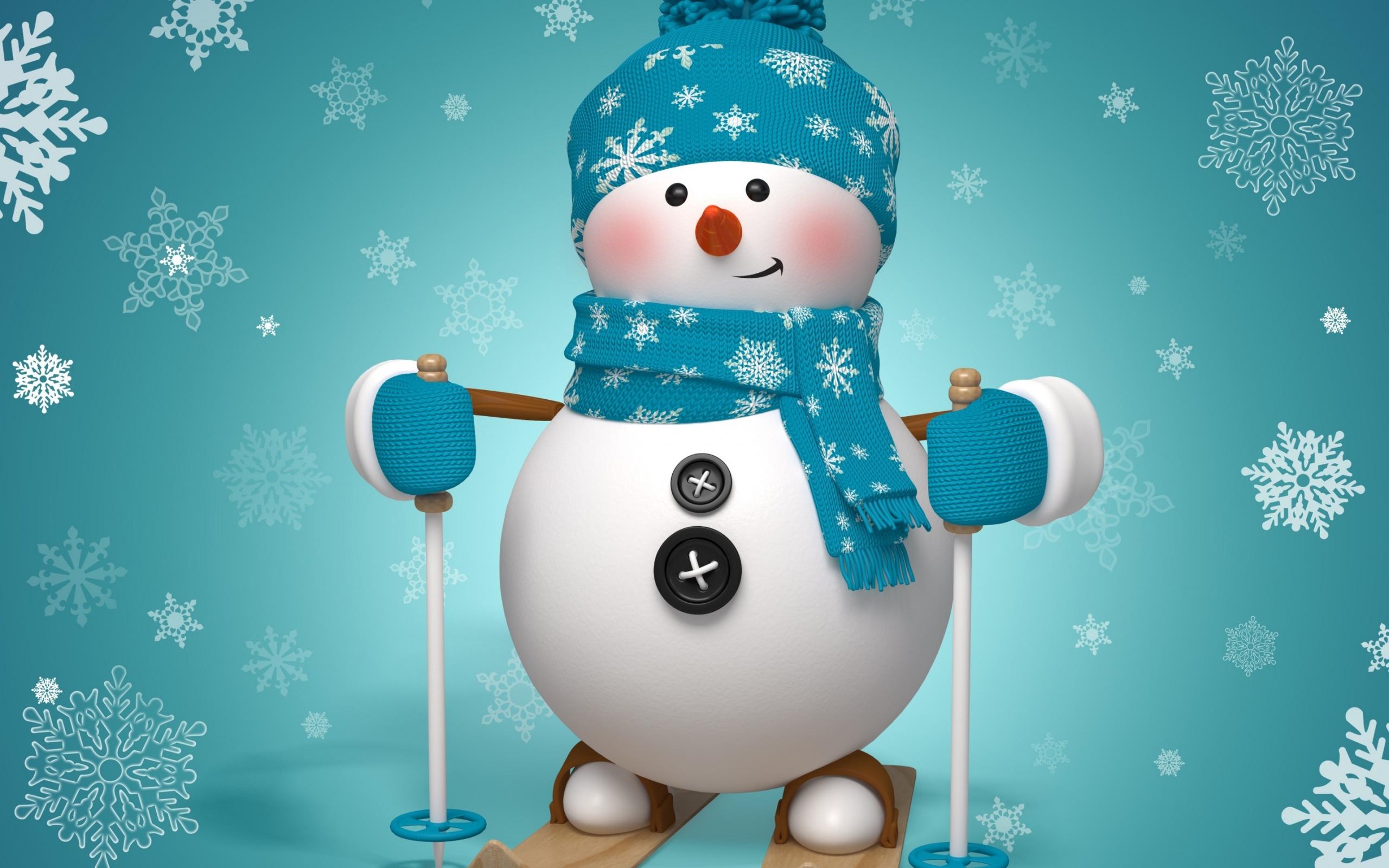 Snowman HD Wallpaper