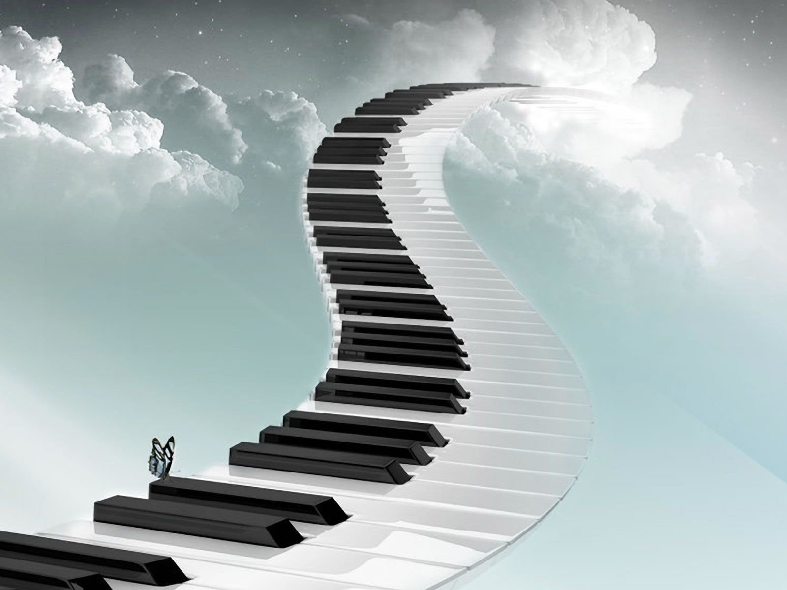 Piano Music Wallpaper: Piano Wallpaper And Background Image