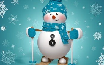 Artistiek - Snowman Wallpapers and Backgrounds ID : 467525