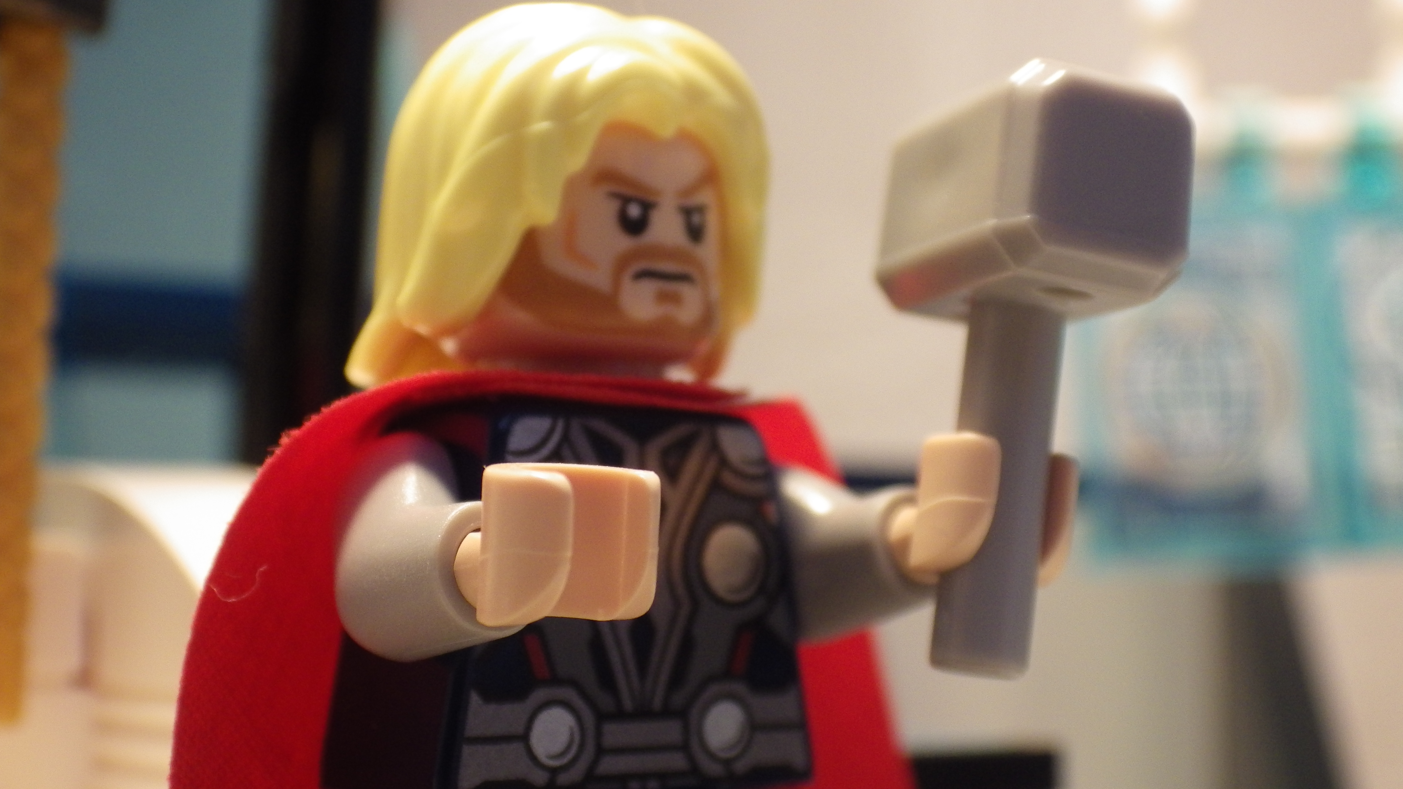 Thor 4k ultra hd wallpaper and background image 4608x2592 id video game lego marvel super heroes thor wallpaper voltagebd Gallery