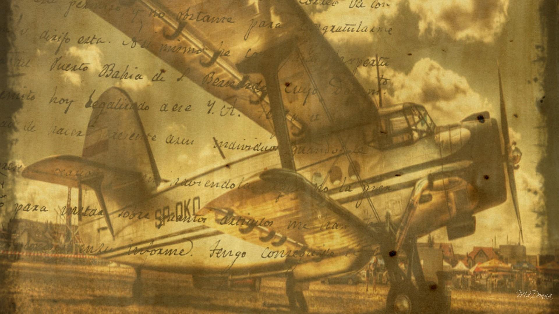 Old Plane Fondo De Pantalla Hd Fondo De Escritorio