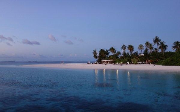 Fotografering Strand Havet Tropical Helgdag HD Wallpaper | Background Image