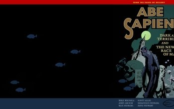 Preview Comics - Abe Sapien Art