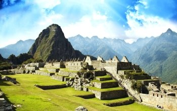 Earth - Machu Picchu Wallpapers and Backgrounds ID : 470827