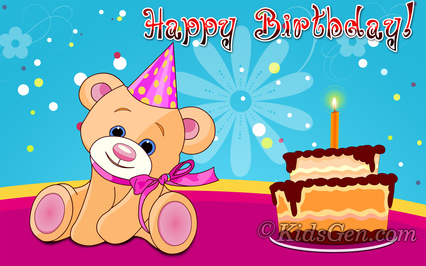 Birthday Wallpaper And Background Image