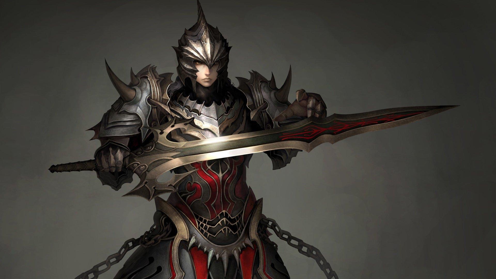 Video Game - Atlantica Online  Warrior Wallpaper