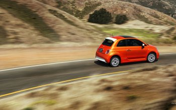 Vehicles - 2014 Fiat 500e Wallpapers and Backgrounds ID : 472212