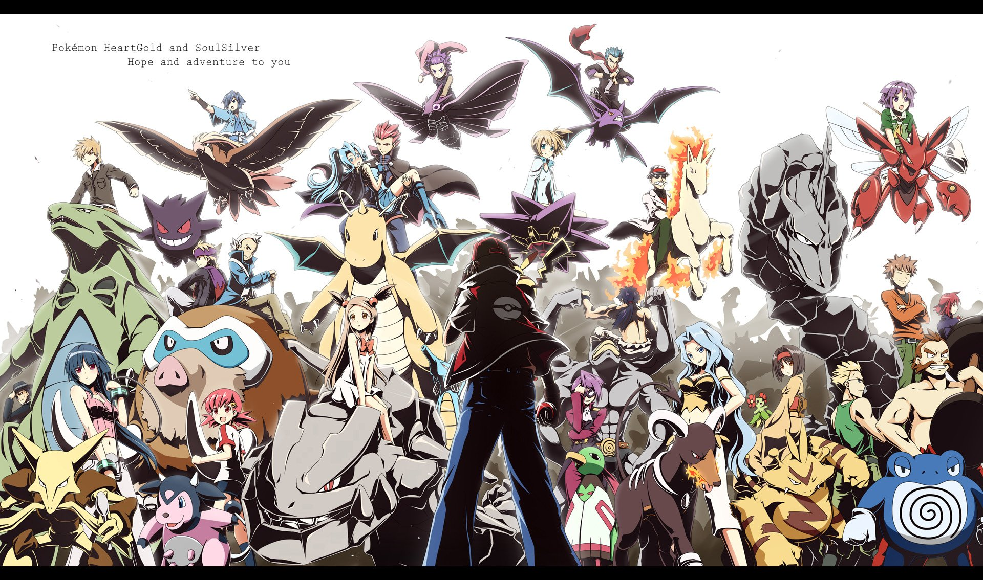 23 Pokemon Heartgold And Soulsilver Hd Wallpapers Background