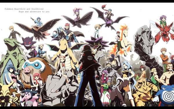 Jeux Vidéo Pokémon: HeartGold and SoulSilver Pokémon Fond d'écran HD | Arrière-Plan