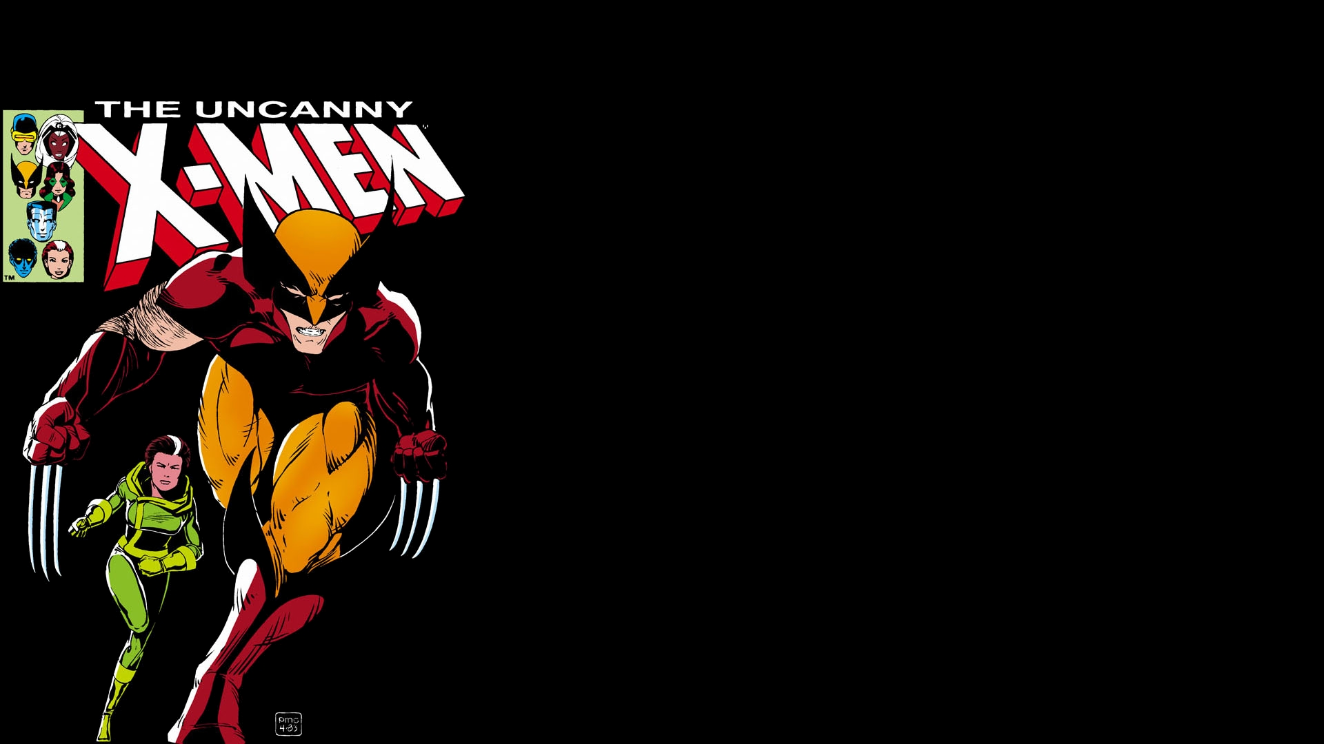 Uncanny X-Men Computer Wallpaper, Desktop Background