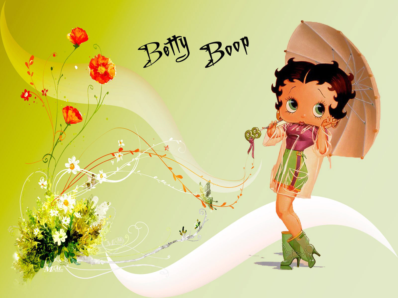 Betty Boop Wallpaper And Background Image