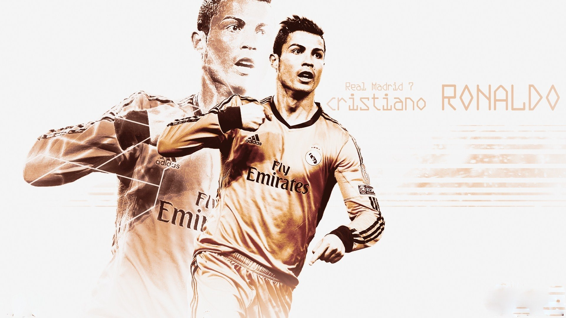 Sports - Cristiano Ronaldo  Real Madrid C.F. Wallpaper