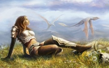Fantasy - Women Wallpapers and Backgrounds ID : 476798