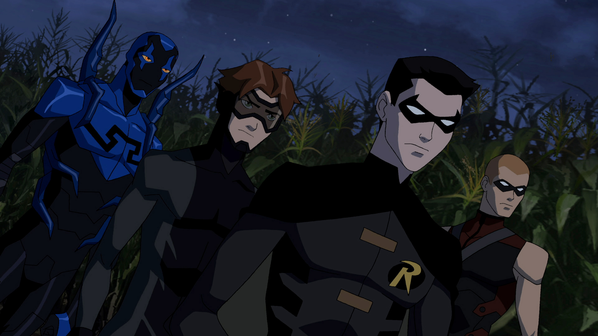 Young Justice HD Wallpaper