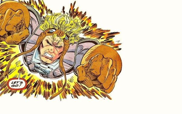 Comics X-Men Cannonball Marvel Comics HD Wallpaper   Background Image
