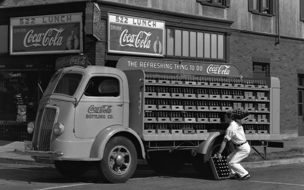Vehicles Truck Coca Cola HD Wallpaper | Background Image