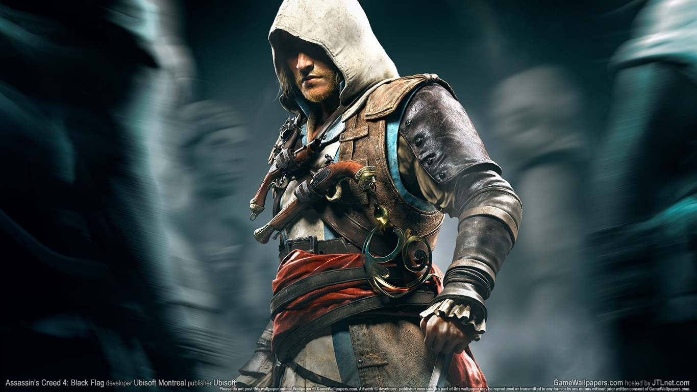 assassins creed 4 Wallpaper and Background Image   1366x768   ID:481253  assassins creed...