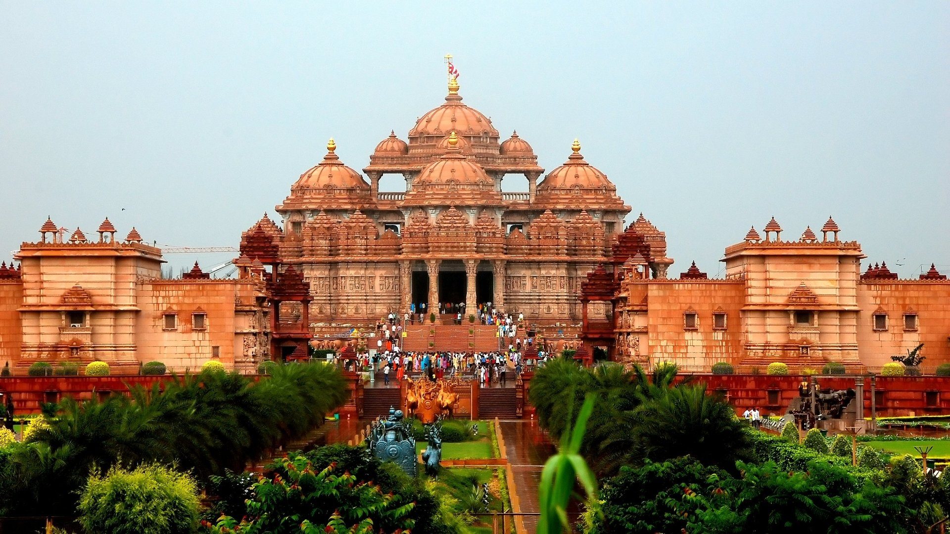 Akshardham Temple HD Wallpaper | Background Image
