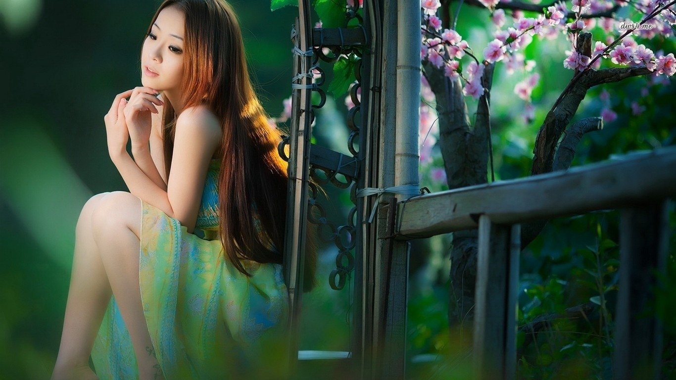 Women - Asian  Woman Wallpaper