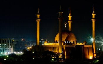 Religioso - Abuja National Mosque Wallpapers and Backgrounds ID : 481578