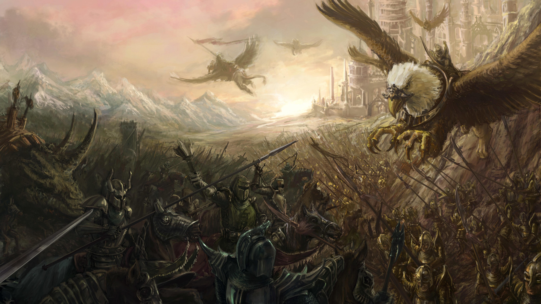 Awesome Sci Fi And Fantasy Battle Scenes By Kai Lim - Swgtcg Hose Down By Ukitakumuki Mzdaf