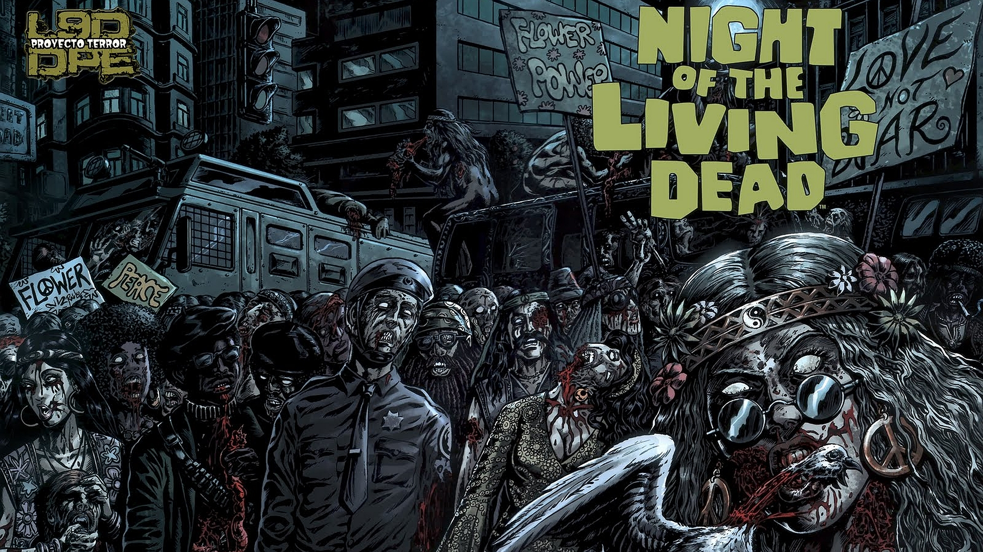 Night Of The Living Dead Hd Wallpaper Background Image 1920x1080