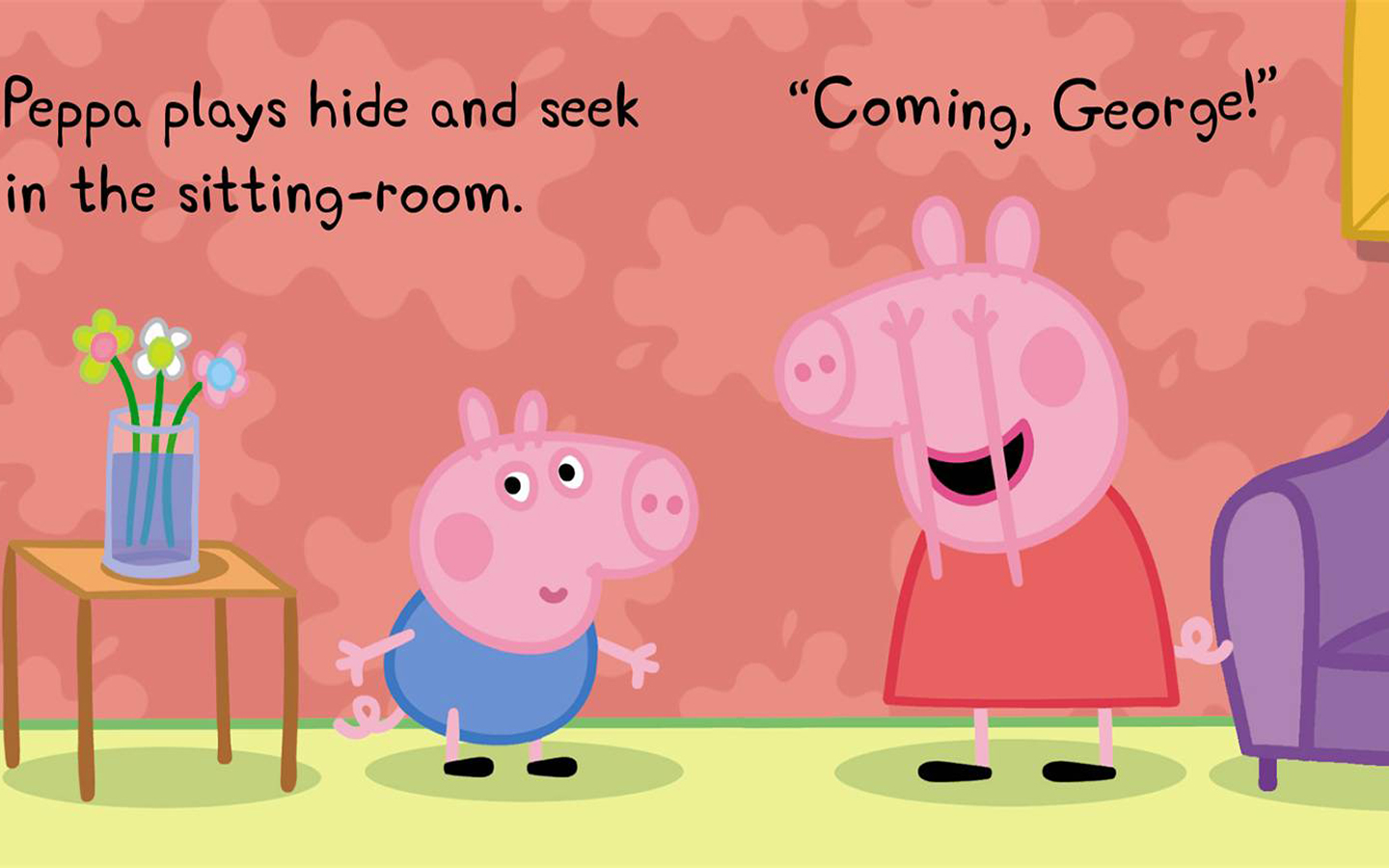 Peppa Pig Wallpaper And Background Image 1440x900 Id