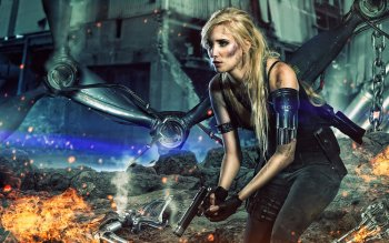 Sci Fi - Women Warrior Wallpapers and Backgrounds ID : 485529