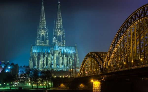 Religious Cologne Cathedral Cathedrals Cologne Cathedral HD Wallpaper | Background Image