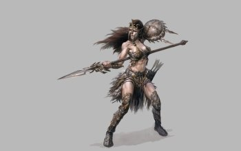 Fantasy - Women Warrior Wallpapers and Backgrounds ID : 486663
