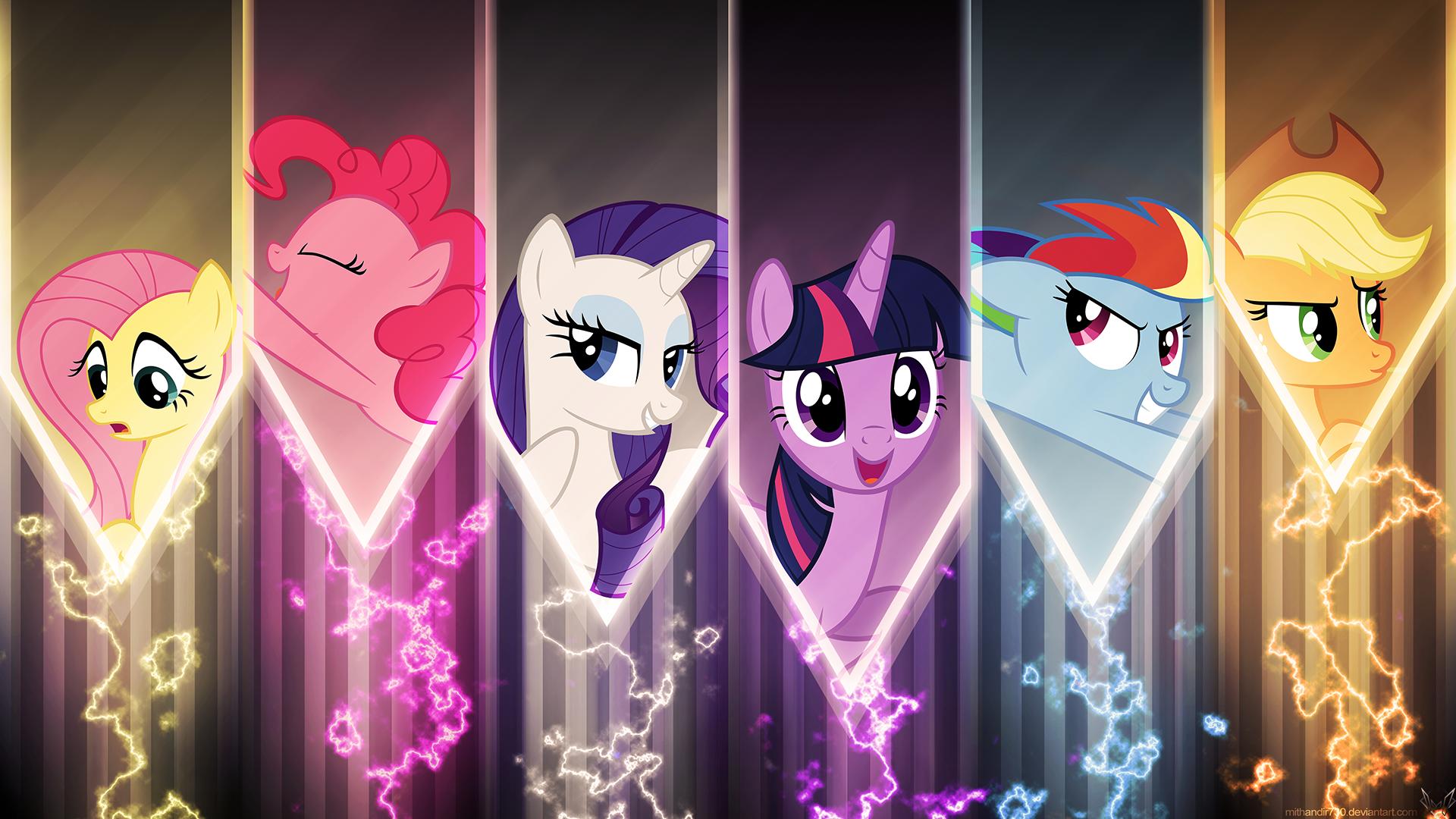 My Little Pony Friendship Is Magic Hd Wallpaper Background