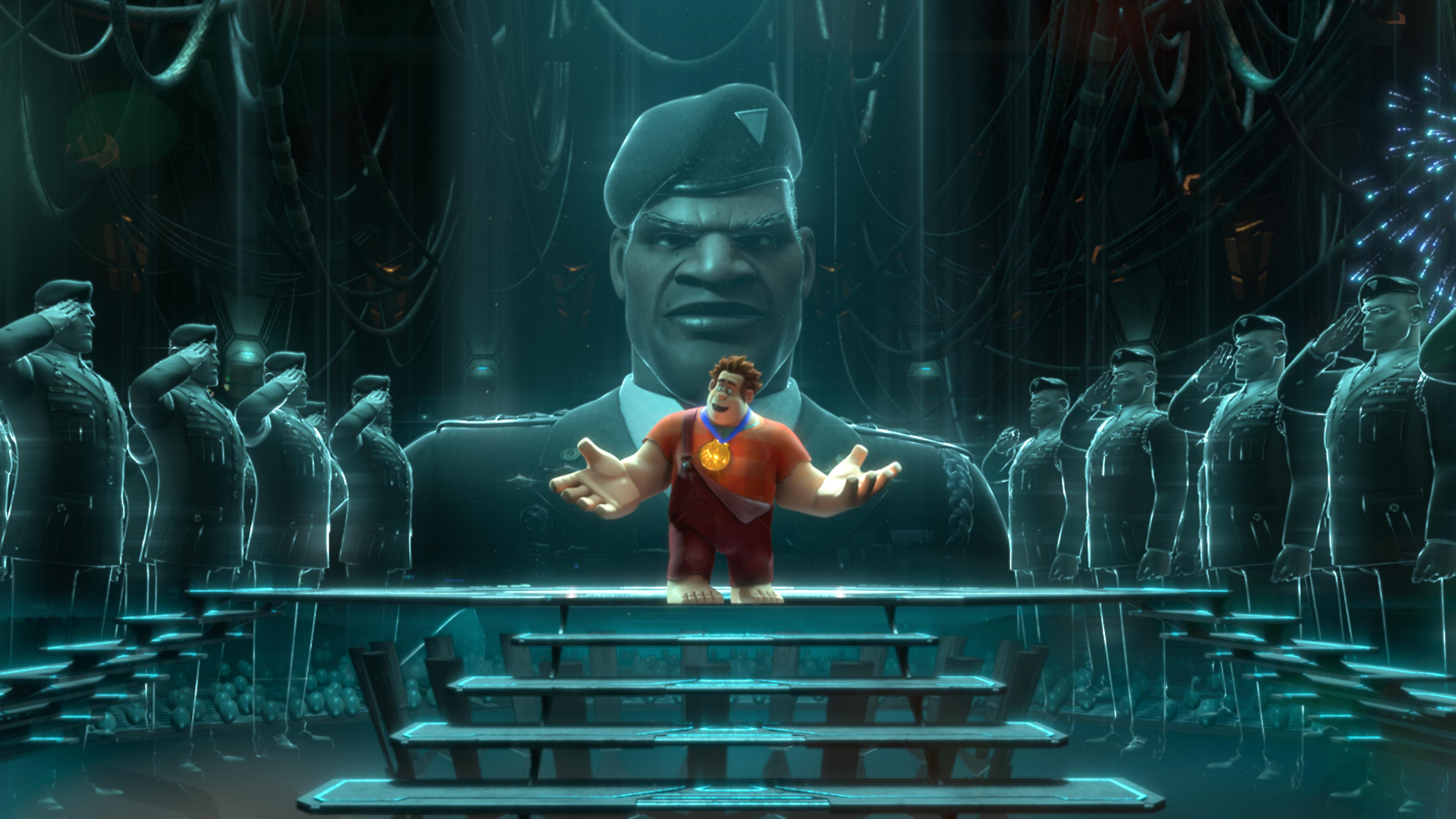 Wreck It Ralph Animation Movie 4k Hd Desktop Wallpaper For: Wreck-It Ralph 4k Ultra HD Wallpaper
