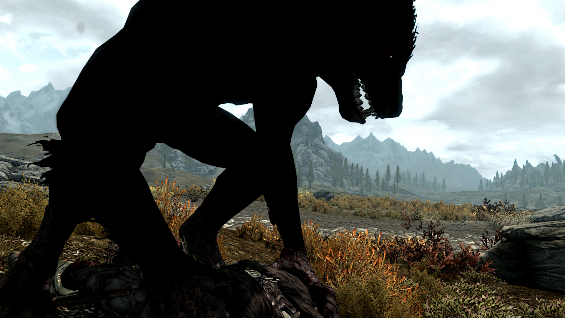 Skyrim werewolf wallpaper hd - photo#13