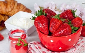 Food - Strawberry Wallpapers and Backgrounds ID : 487601