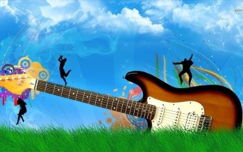 Música - Guitarra Wallpapers and Backgrounds ID : 488015
