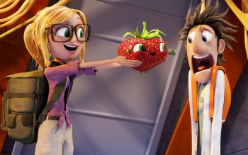 Cloudy With A Chance Of Meatballs HD Wallpaper
