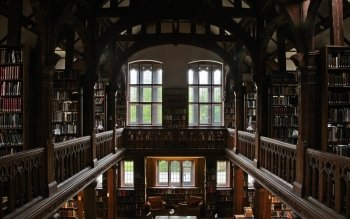 36 Library Hd Wallpapers Background Images Wallpaper