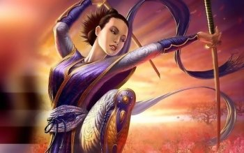 Fantasy - Women Warrior Wallpapers and Backgrounds ID : 489807