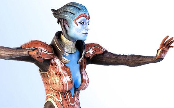 Video Game Mass Effect Samara HD Wallpaper | Background Image